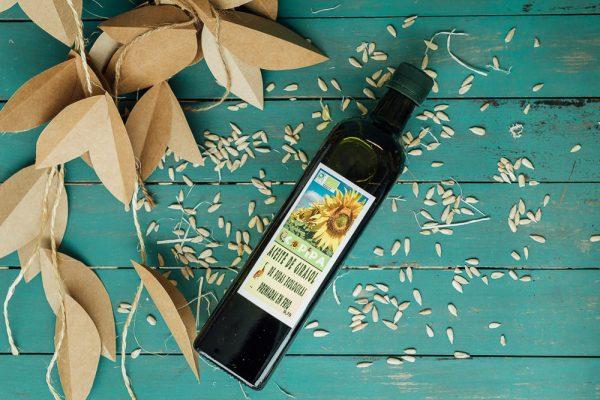 Aceite de girasol 750 ml, Ecopipa