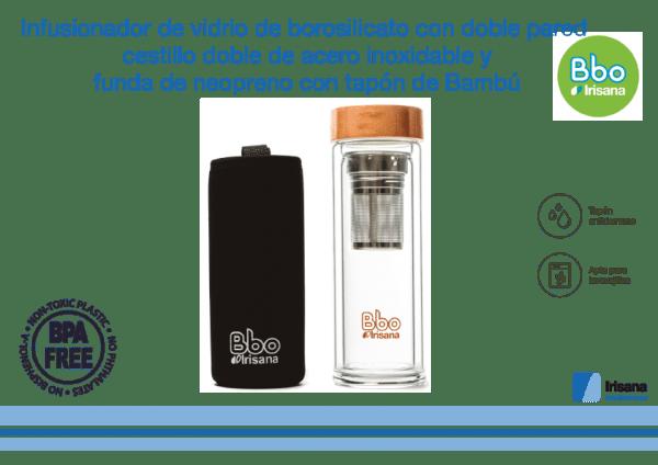 Botella con infusionador