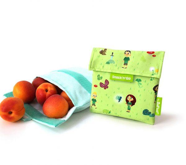 Eco envoltorio porta snack infantil, Roll Eat
