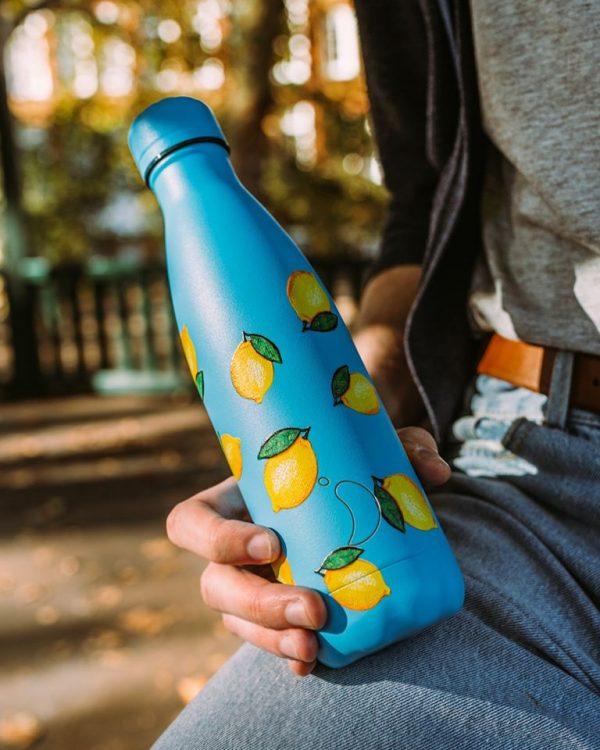 Botella termo Limón 500ml, Chilly´s