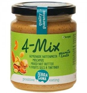 Crema Mix de 4 Frutos Secos 250 gr., Terrasana