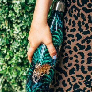 Botella termo Leopardo, 500 ml Chilly´s