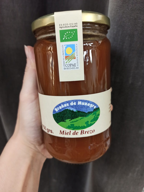 Miel de Brezo 750 gr. Brañas de Muxagre