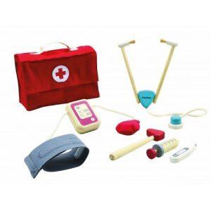 Maletín médico madera, Plan Toys