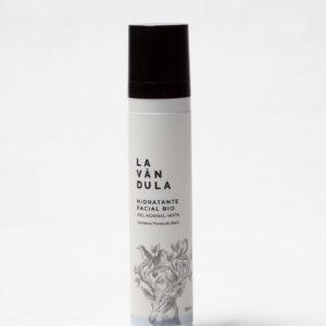 Crema facial hidratante Bio piel normal mixta, Lavándula