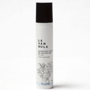 Crema facial nutritiva de noche Bio, Lavándula