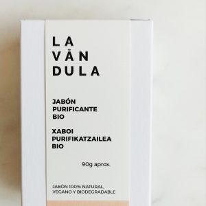 Jabón sólido purificante, Lavándula