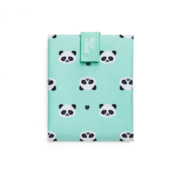 Porta bocadillos reutilizable Panda, Roll eat
