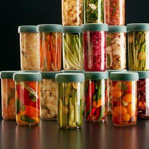 tarros para preparar fermentados Pickles Lèkué