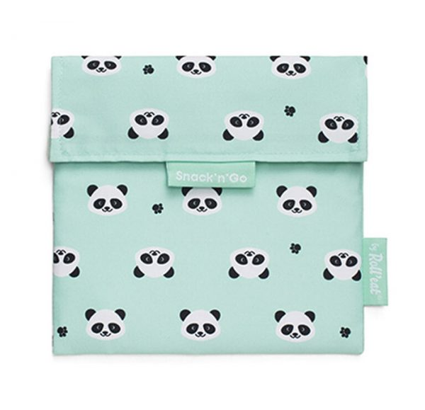 Eco envoltorio reutilizable Panda, Roll eat