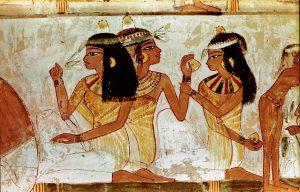 aromaterapia en la Historia