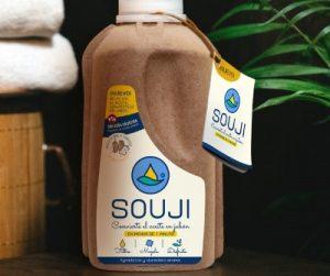 Souji sirve para reciclar el aceite usado y convertirlo en jabón