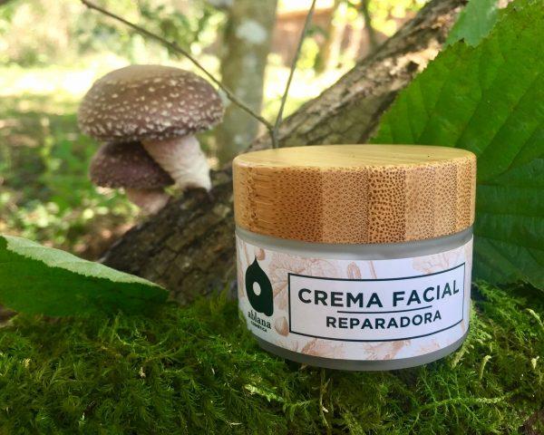 Crema facial reparadora, Ablana