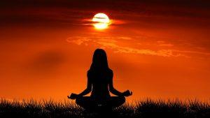sol y meditación