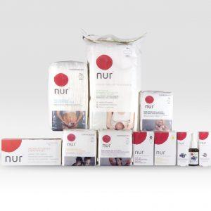 Compresas ecológicas Nur