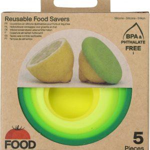 tapas silicona reutilizables Food Huggers