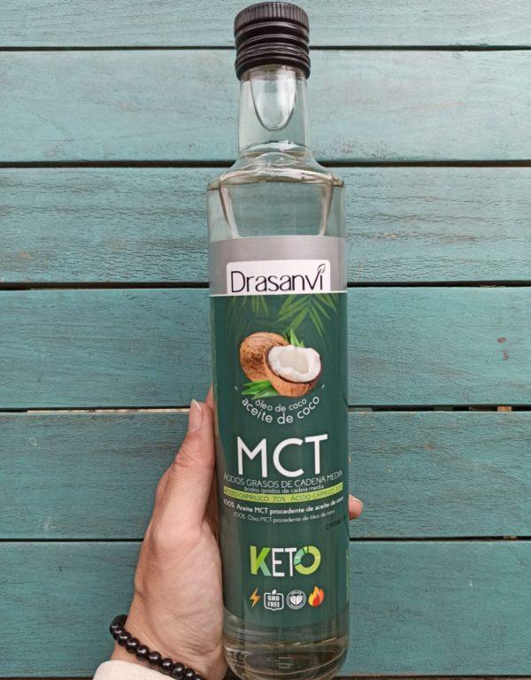 aceite de coco MCT