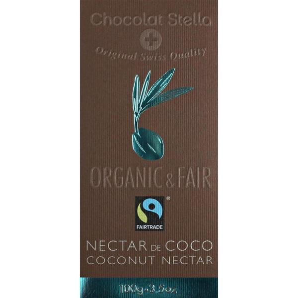 chocolate bio con néctar de coco