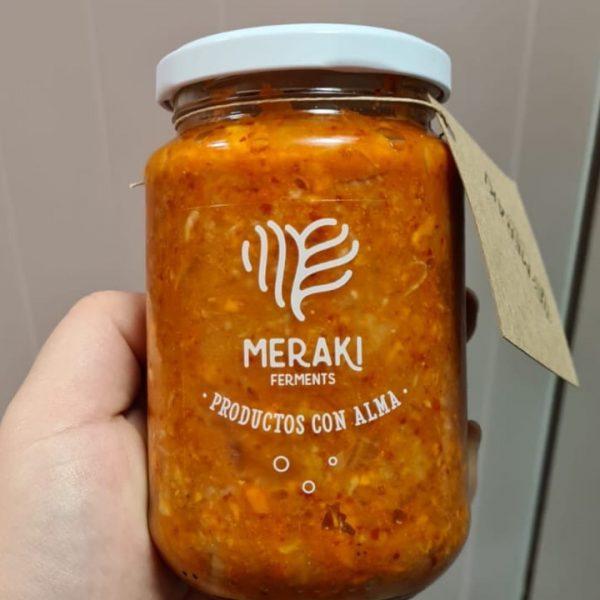 kimchi ecológico artesanal Meraki Ferments