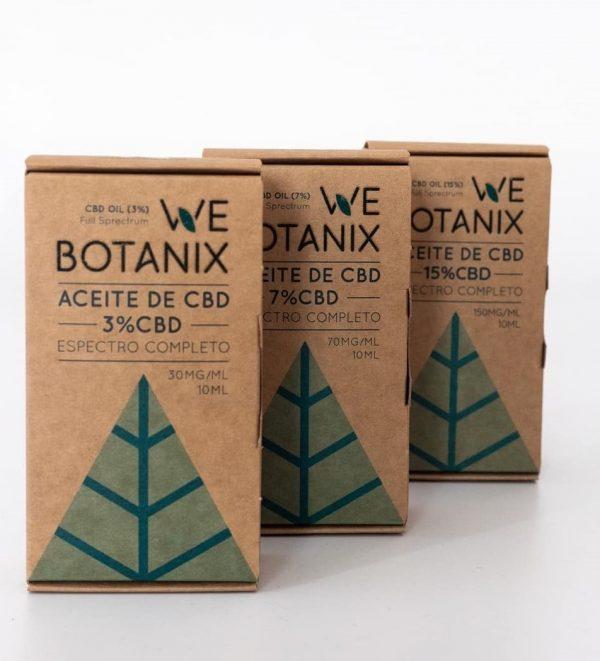 aceite de CBD Bio webotanix