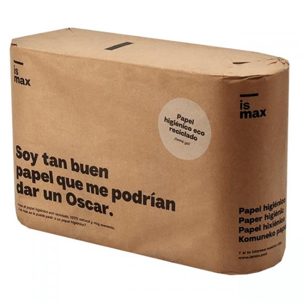 papel higiénico ecológico reciclado