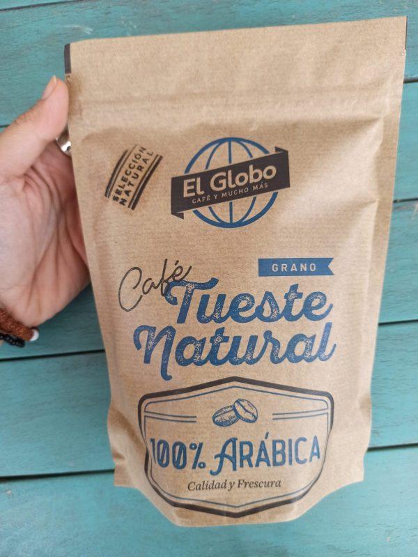 café 100% arábica El Globo en grano